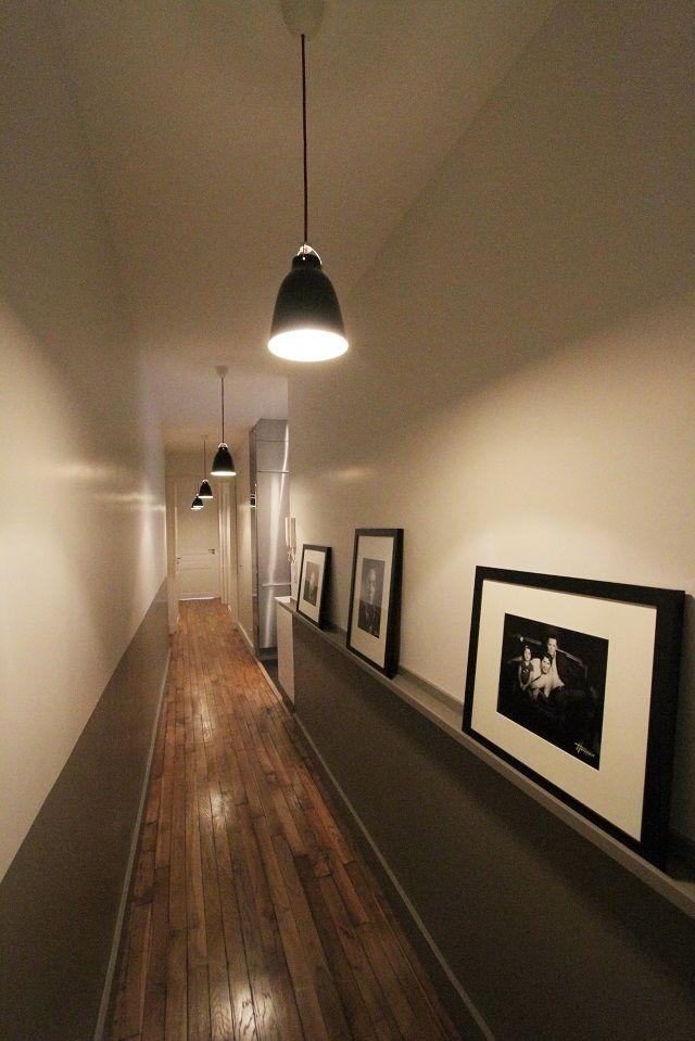 69 best d co escalier et couloir stairs corridor - Deco couloir etroit ...