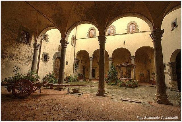 Castello di Trebbio- beautiful vineyard in the Chianti region!