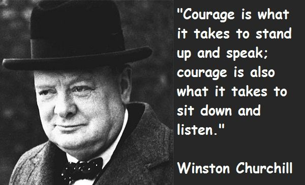 Churchill Winston Inspirational Quotes | Below are some of his words. Read. Reflect. Be Inspired.