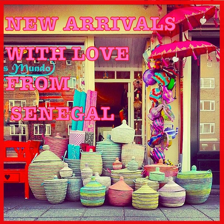 ♥ With love from Senegal  ♥ Funky fair-trade arrivals for an eclectic lifestyle