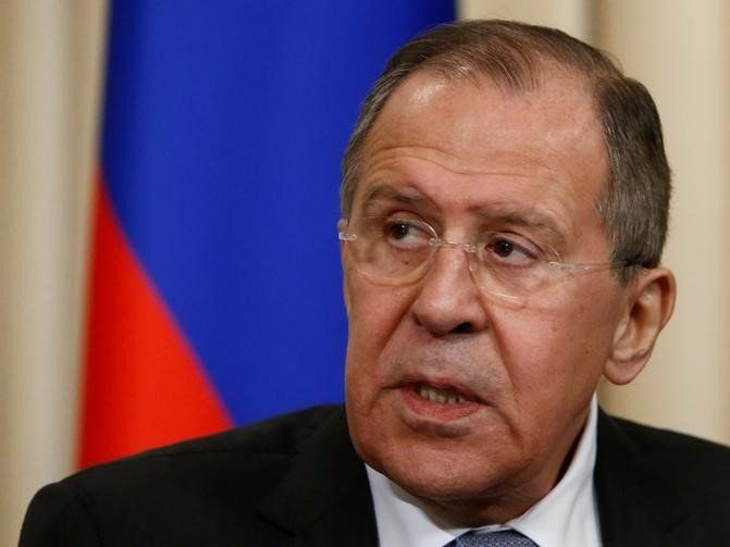 Estonia says Russian plane carrying Foreign Minister Lavrov violated their airspace