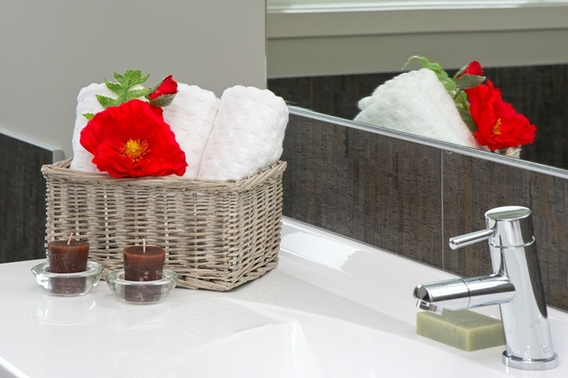 Handtowels readily available - bathroom essentials.