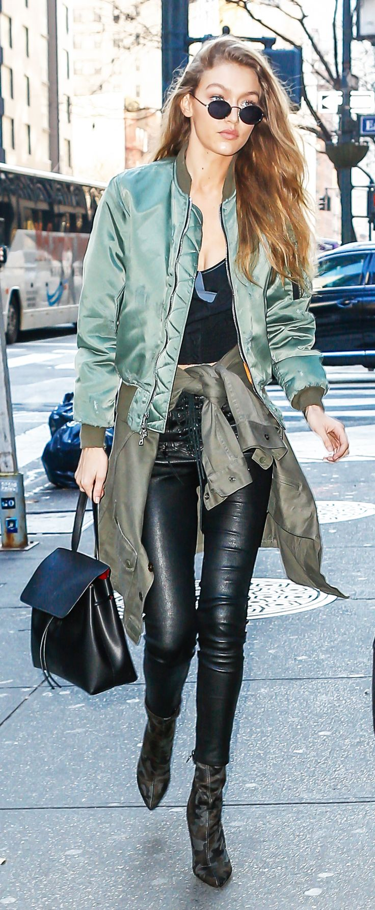 Model Gigi Hadid is always on top of the latest trends. Here, she combines some of her old favorites with new ones that are sure to be big next year.