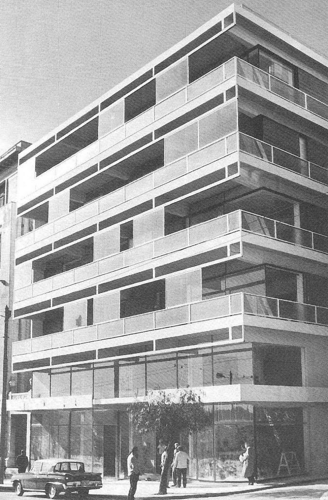 Takis Zenetos, Building at Vasilis Amalias Str, Athens