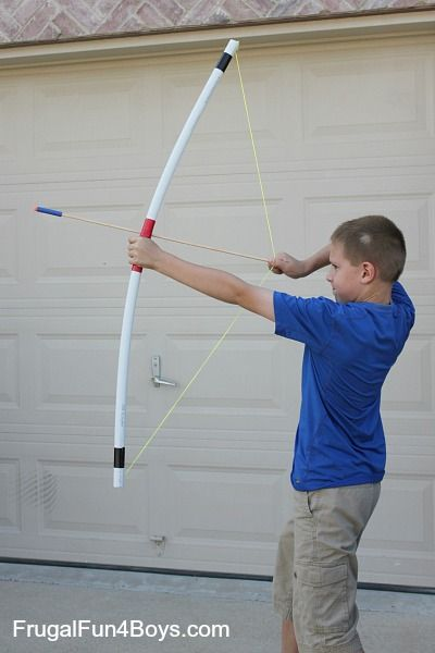 All of my boys have been wanting to own a good bow and arrows! We have purchased plastic bow sets with suction cup arrows that have lasted a week or two before breaking. They have also tried making bows out of sticks and even Tinker Toys (not especially safe – ha!) Here's an option that …