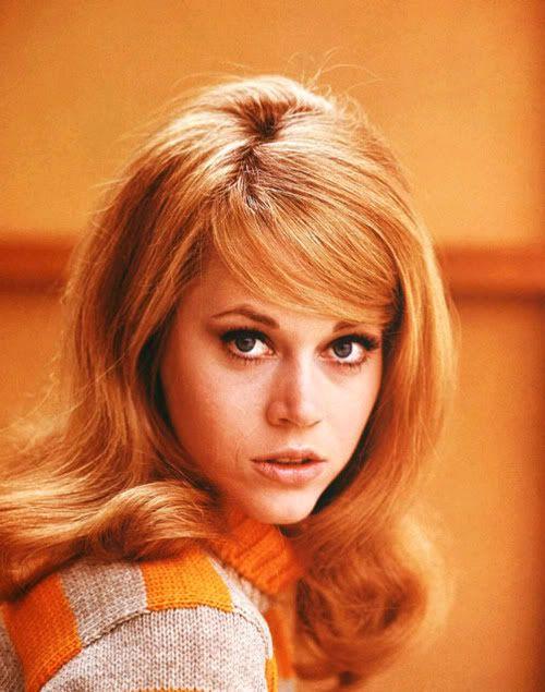 Jane Fonda...: Cat Eye, Vintage Hair, 60 S Hairstyles, Jane Fonda, Bangs, Actresses Awards, Beautiful People, Workout Videos, 1960S Hair
