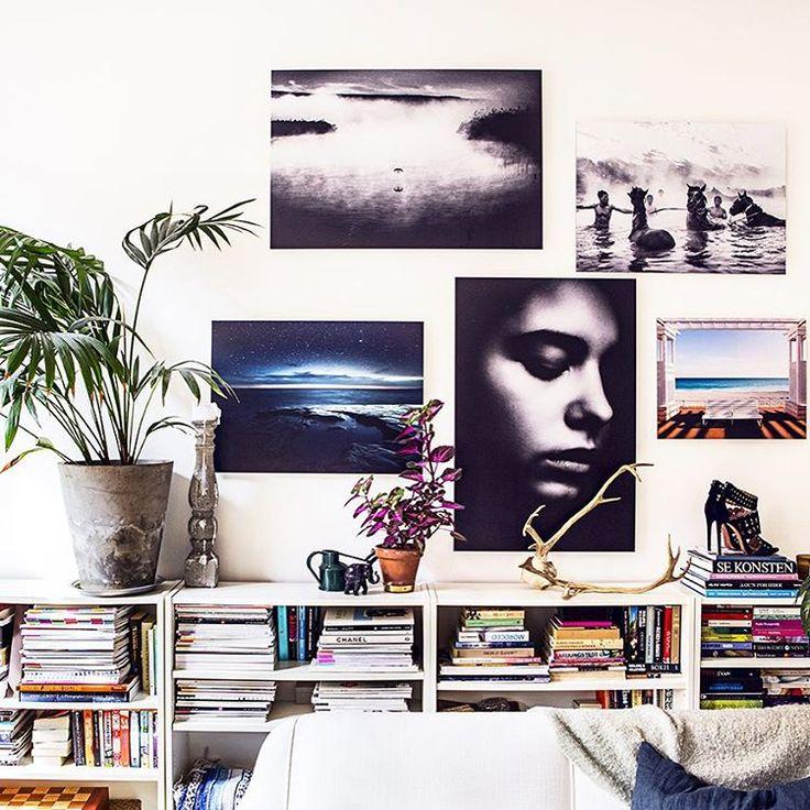 """""""Jag har stylat Gallerix senaste kampanj """"wall your self"""" by Amelia Widell. Jag får en massa frågor om vad man ska ha på väggarna och ett tips är att gå in…"""""""