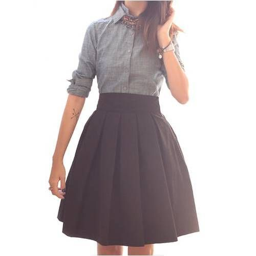 I really love the look of these skirts- but how would they look on me? I need to get out there and try this stuff on!