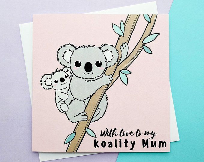 Cute Mothers Day Card Best Mum Cards Grandma Card Mum Birthday