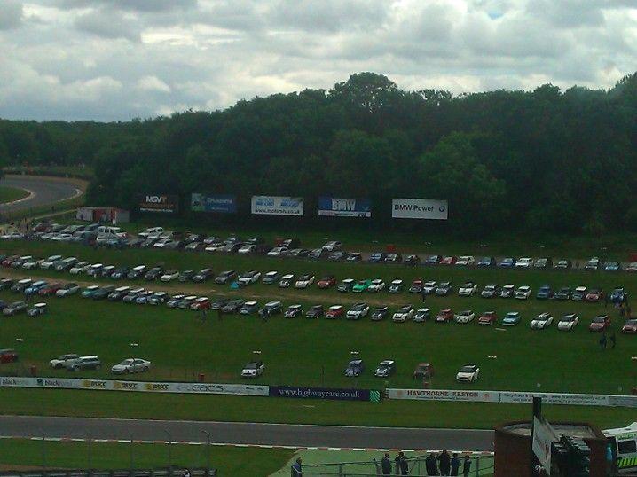 Brands Hatch on Mini Day