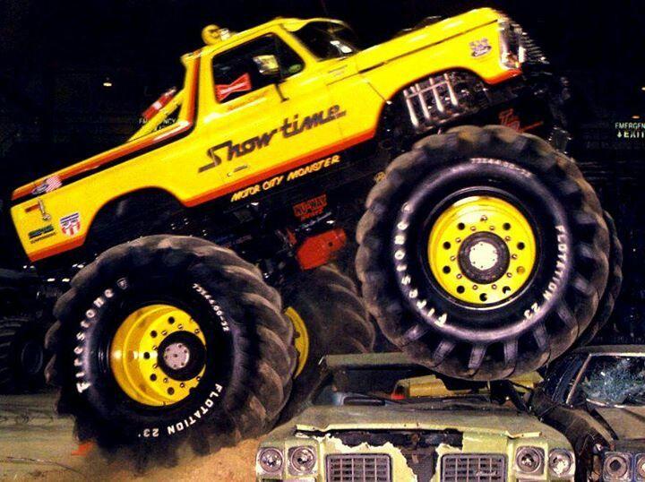 """bright yellow """"Monster Truck"""""""