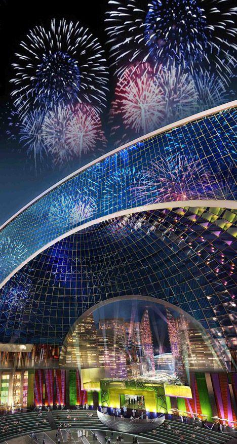 Dubai terá primeiro bairro do mundo climatizado artificialmente - Arcoweb                                                                                                                                                                                 Mais