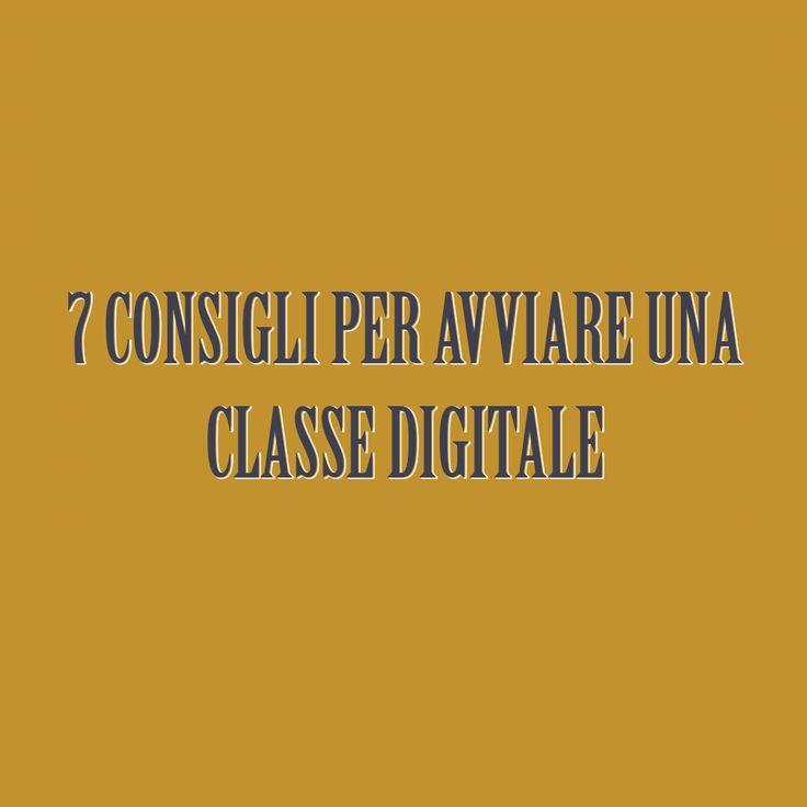 di Vittoria Paradisi - www.vittoriaparadisi.wordpress.com - www.facebook.com/vittoria.paradisi Due anni fa ho iniziato la mia avventura in una classe digitale, la prima sperimentazione dell'I.C.