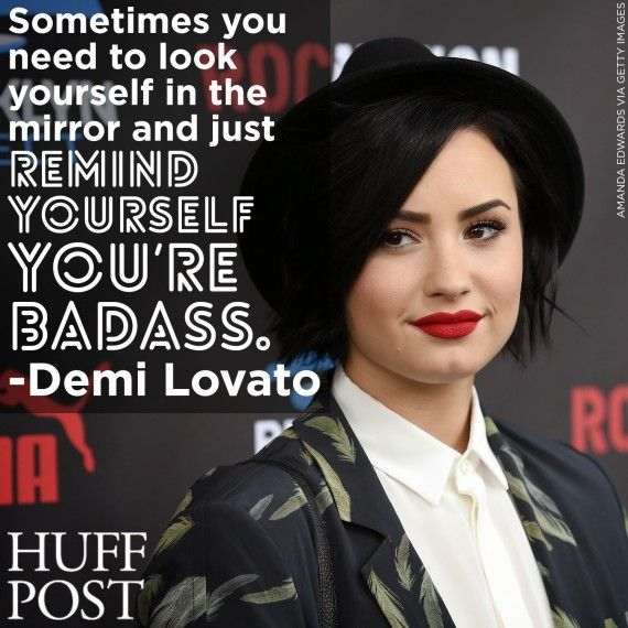 Demi Lovato's tips for being a confident badass