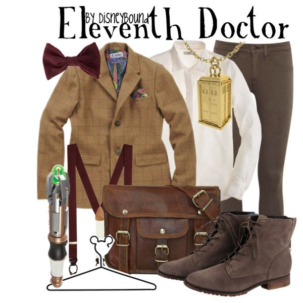 The Eleventh Doctor by leslieakay on Polyvore featuring J.Crew, rag & bone, Steve Madden, Brooks Brothers and Disney