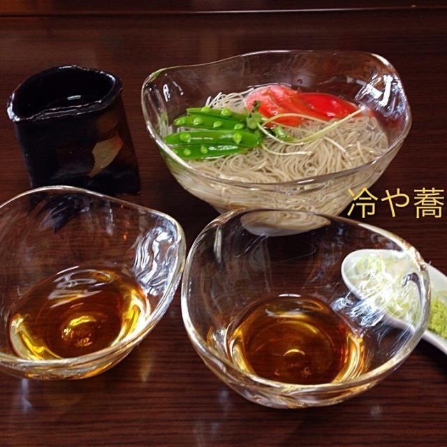 懐石料理のながれの一品、口直し夏むき蕎麦 - 8件のもぐもぐ - シンプル冷や蕎麦 by tmihara