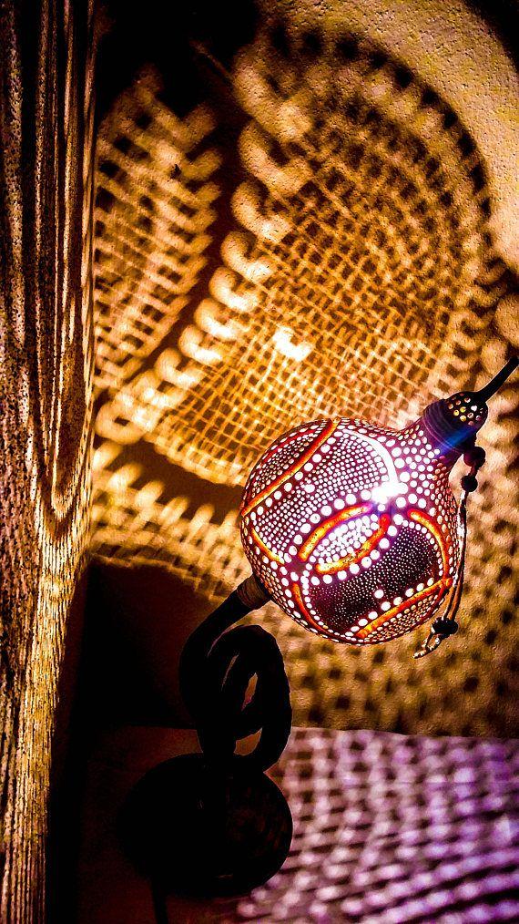 Gourd floor lamps interior design birthday anniversary