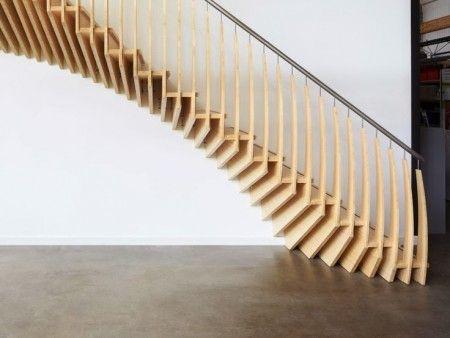 Escaleras de madera 1   Wood stairs 1