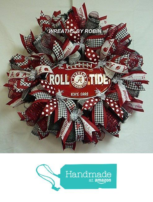 Alabama Sports Wreath College Wreaths From By Robin