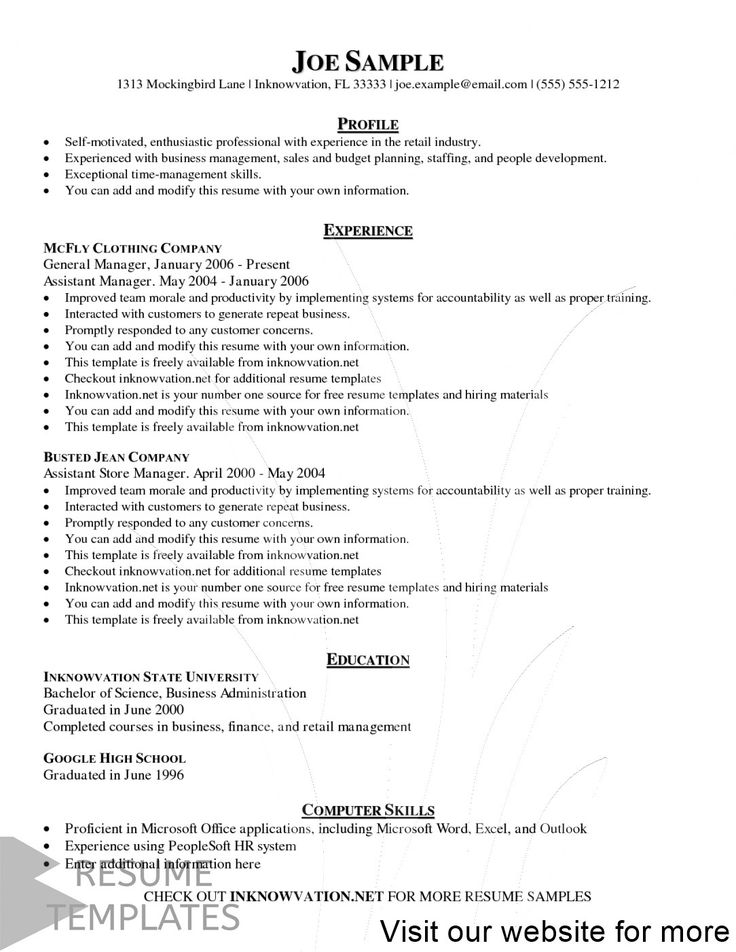 resume builder free download pdf in 2020 Resume template