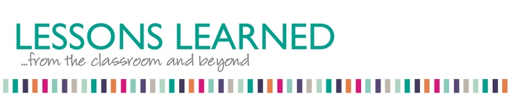 lessons learned blog