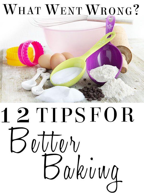 12 Tips for Better Baking - Erren's Kitchen