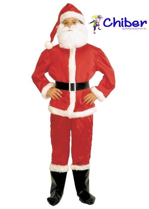 Disfraz de Papá Noel para niño: Como la leyenda de Papá Noel o Santa Claus se originó en el Hemisferio Norte, a principios del siglo XX se esparció la idea de que este personaje viviría en el Polo Norte; sin embargo igualmente existen otros lugares postulados como su hogar, los cuales son: Laponia sueca, Laponia finlandesa y Groenlandia.