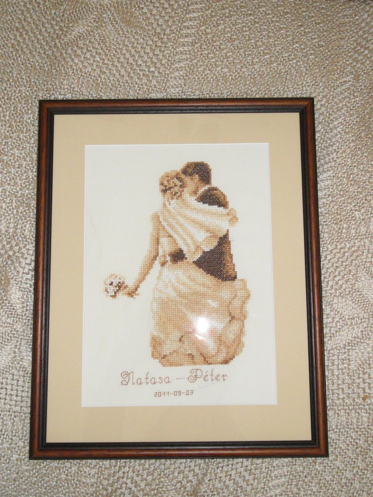 Wedding gift1 - cross stitch