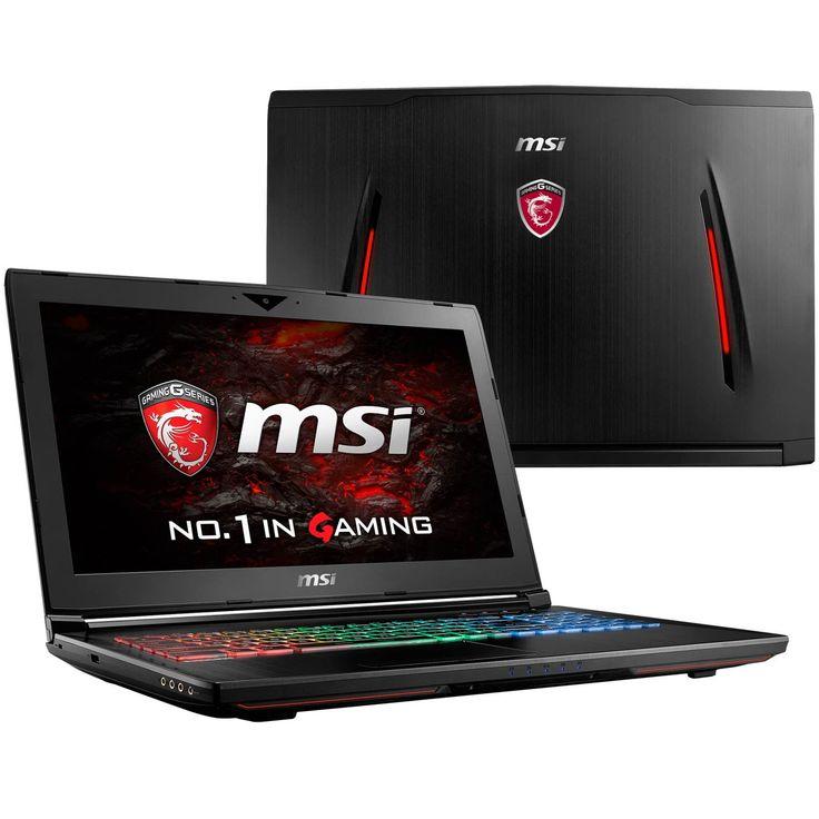 "GT62VR Dominator-078 (i7-6700HQ, 64GB RAM, 1TB HDD, NVIDIA GTX 1060 6GB, 15.6"" Full HD, Windows 10) VR Ready Custom Gaming Notebook. Display: 15.6"" Full HD (1920 x 1080) eDP IPS-Level w/ NVIDIA® G-Sync   Graphics Card: NVIDIA® GeForce® GTX 1060 6GB GDDR5 (VR Ready). Processor: 6th Gen Intel® Skylake Core i7-6700HQ Quad Core (2.6GHz-3.5GHz, 6MB Intel® Smart Cache, 45W). RAM: 64GB DDR4 2400MHz (4x 16GB)   Hard Drive: 1TB 7200RPM HDD. OS: Microsoft® Windows 10 (64-bit) Multi-language  ..."