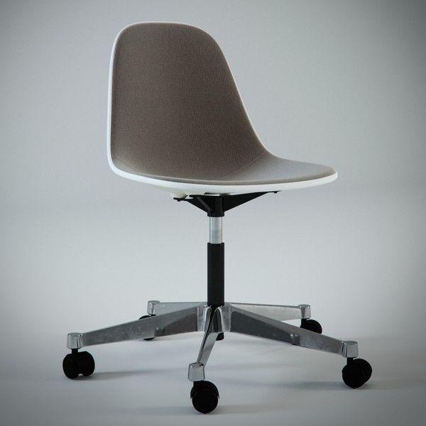 Eames Plastic Side Chair PSCC, 1950