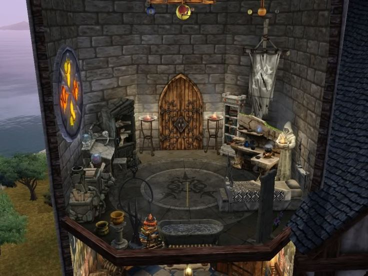 Sims Medieval - Wizard Lab | Sims Medieval | Pinterest | Medieval ...