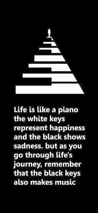 Life explained by a piano!! .... Because for useful how to tips - Click on the following link! http://www.TeachingHow.com