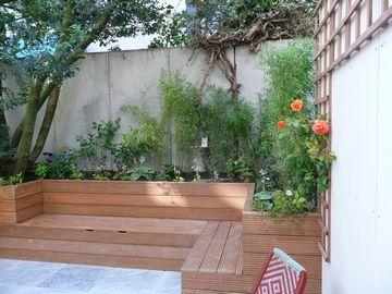 lounge+bloembakken+opbergruimte