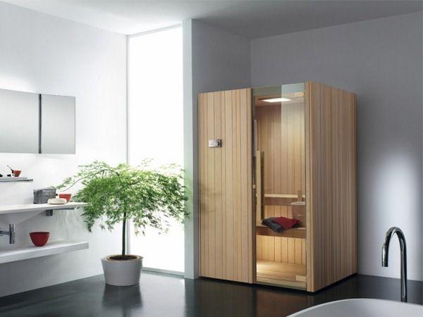 Marvelous Finnish Sauna AUKI EFFEGIBI Compact A Person Design