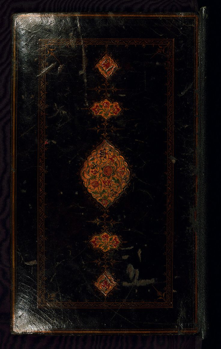 Book of kings (Shahnama), Binding, Walters Art Museum Ms. W.600, Upper board outside  This is an illuminated and illustrated Safavid copy of the Book of kings (Shāhnāmah) by Firdawsī (d. 411 or 416 AH / 1020-5 CE), dating to the tenth century AH / sixteenth CE.