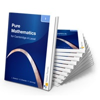 Cambridge A Level Maths. Endorsed by the University of Cambridge International Examinations, our new A Level series provides comprehensive support for the many routes through the flexible Cambridge syllabus (9709). £13.99 each.
