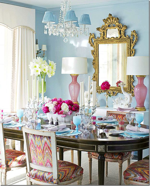 1000 images about dining room ideas on pinterest case for Pink dining room ideas