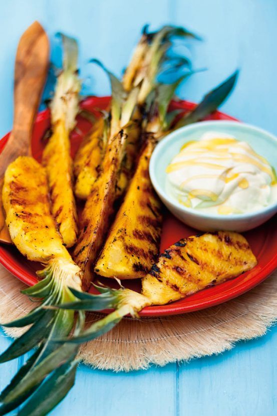 Chargrilled rum pineapple BBQ