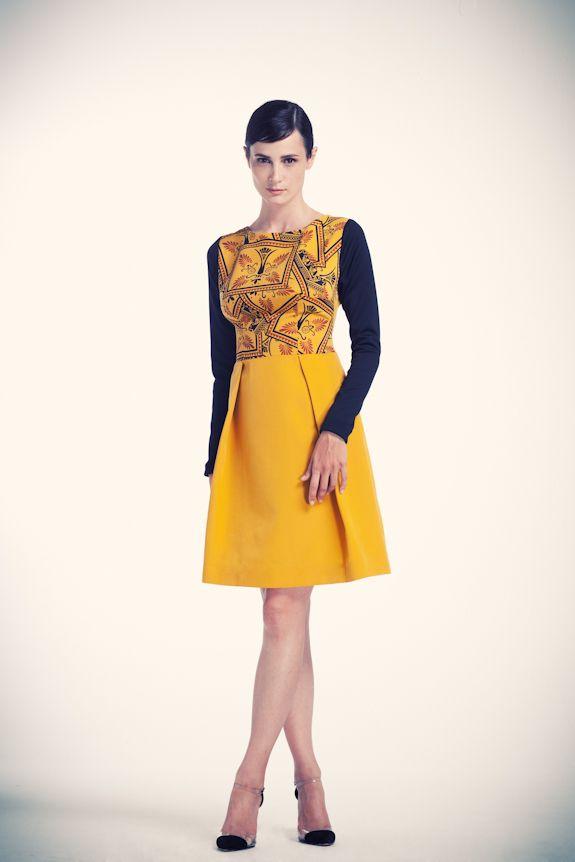 Gaudian mosaic printed dress   www.asliguler.com to shop online