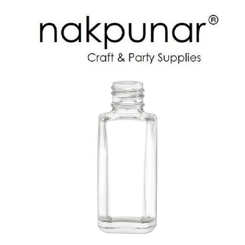 10 ml Empty Nail Polish Bottle - Narrow and Tall - Nakpunar