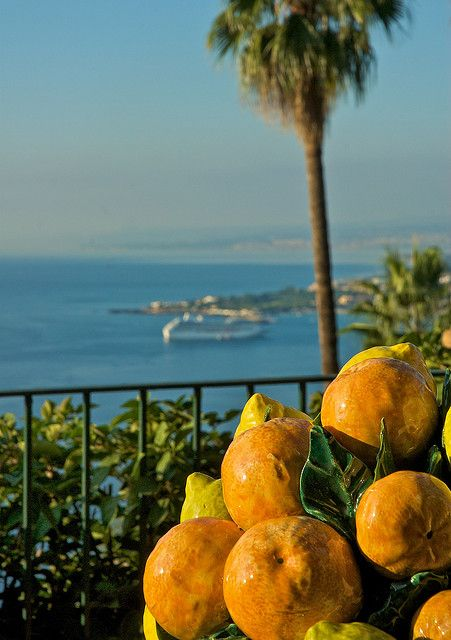 Taormina Hotel View (Villa Belvedere) - Sicily, Italy