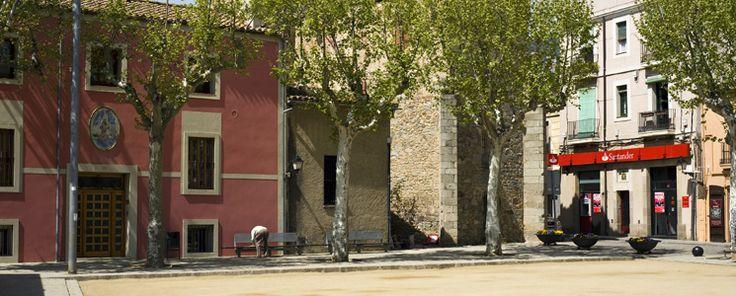 Plaça Major d'Alella.