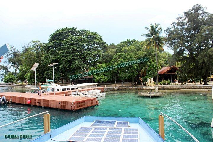 Keindahan Wisata Pulau Putri Resort