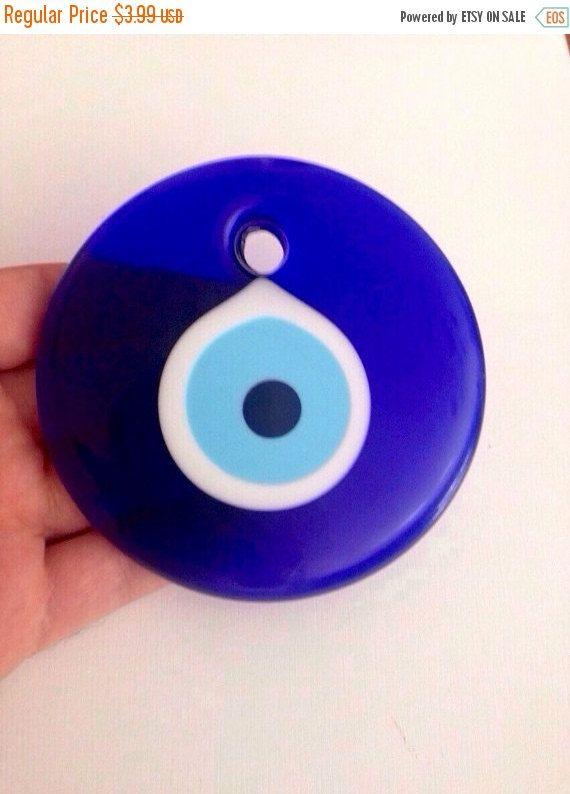 ON SALE 25% OFF Evil eye bead 10cm Evileye by CreativeShopIdeas