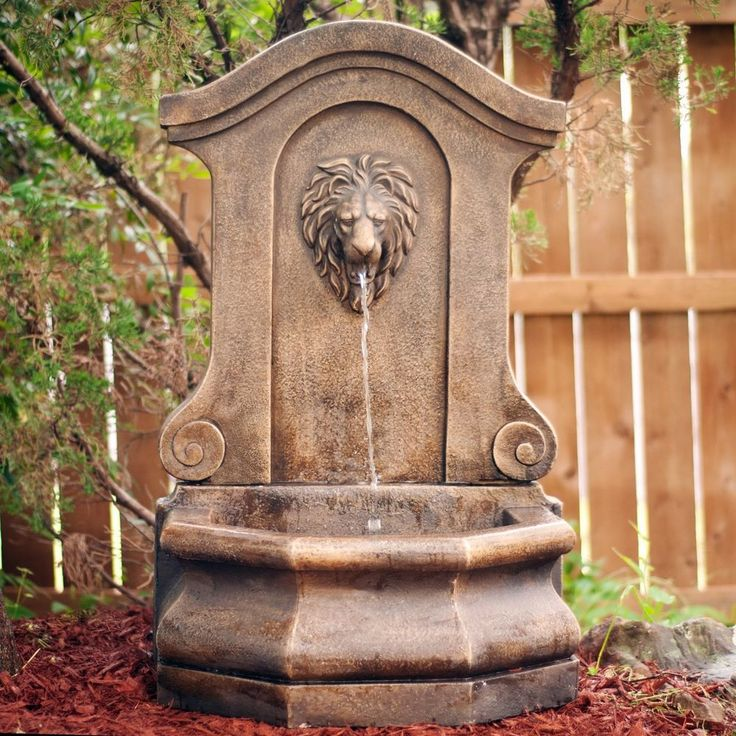 1000 ideas about outdoor water fountains on pinterest outdoor fountains backyard water - Decorative water spouts ...