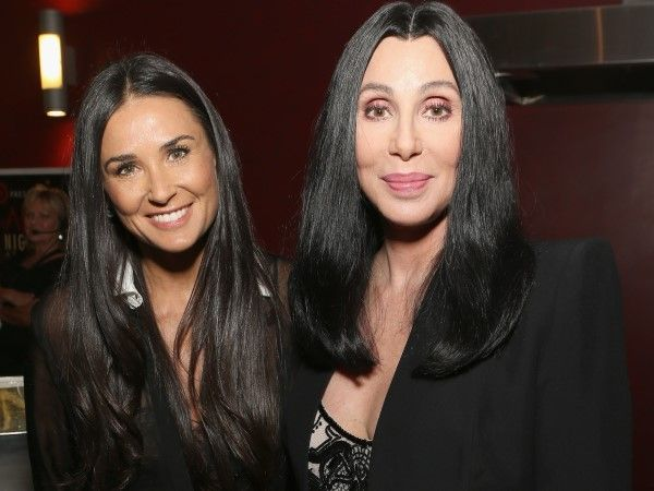 Cher e Demi Moore