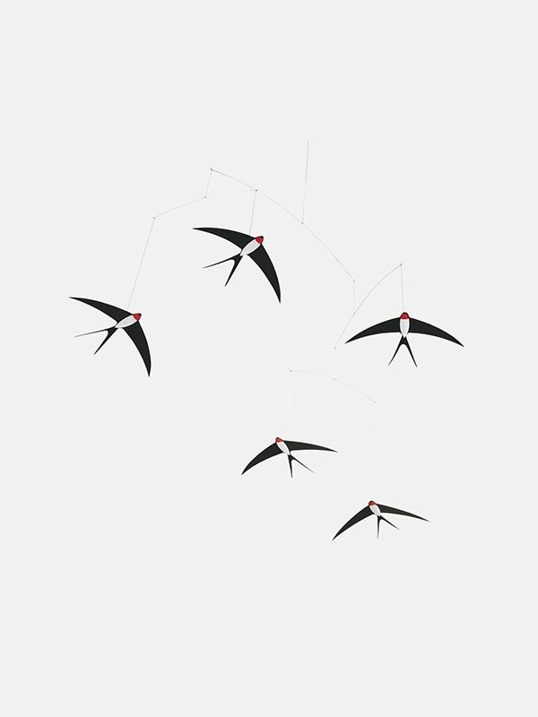Flensted Mobile - Five Swallows