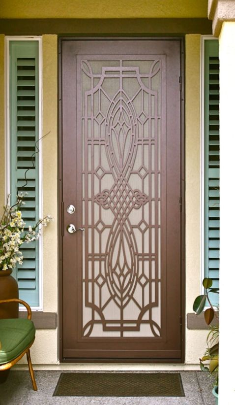 11 best Security Screen Doors images on Pinterest Security - unique home designs security doors