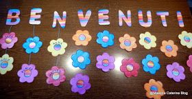 Maestra Caterina: Accoglienza: BENVENUTI, BENTORNATI, WELCOME