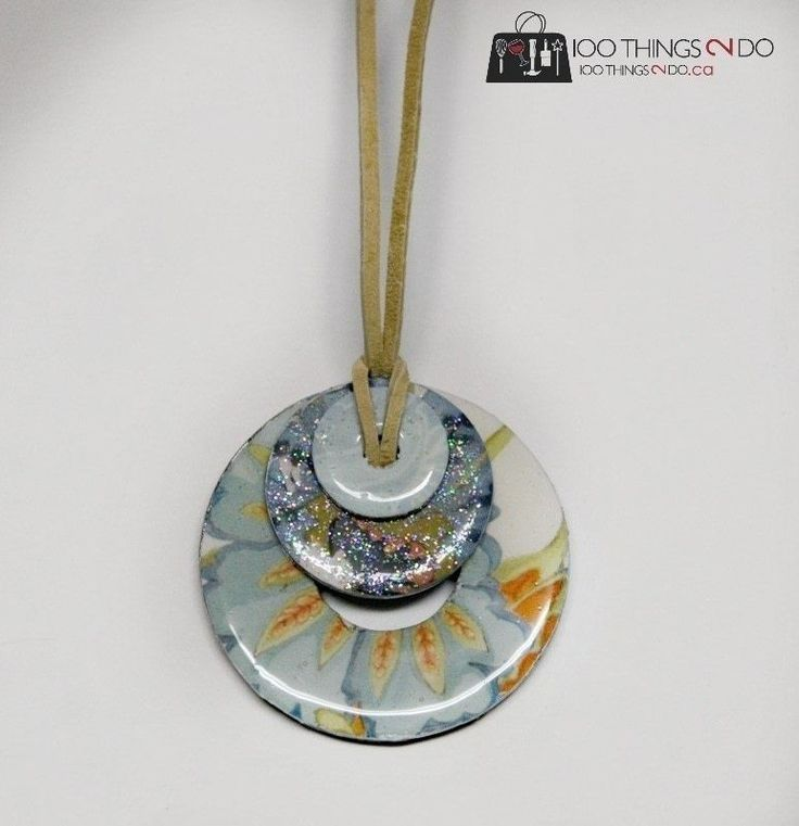 Make Jewelry From Plumbing Washers  •  Free tutorial with pictures on how to make a hardware necklace in under 20 minutes